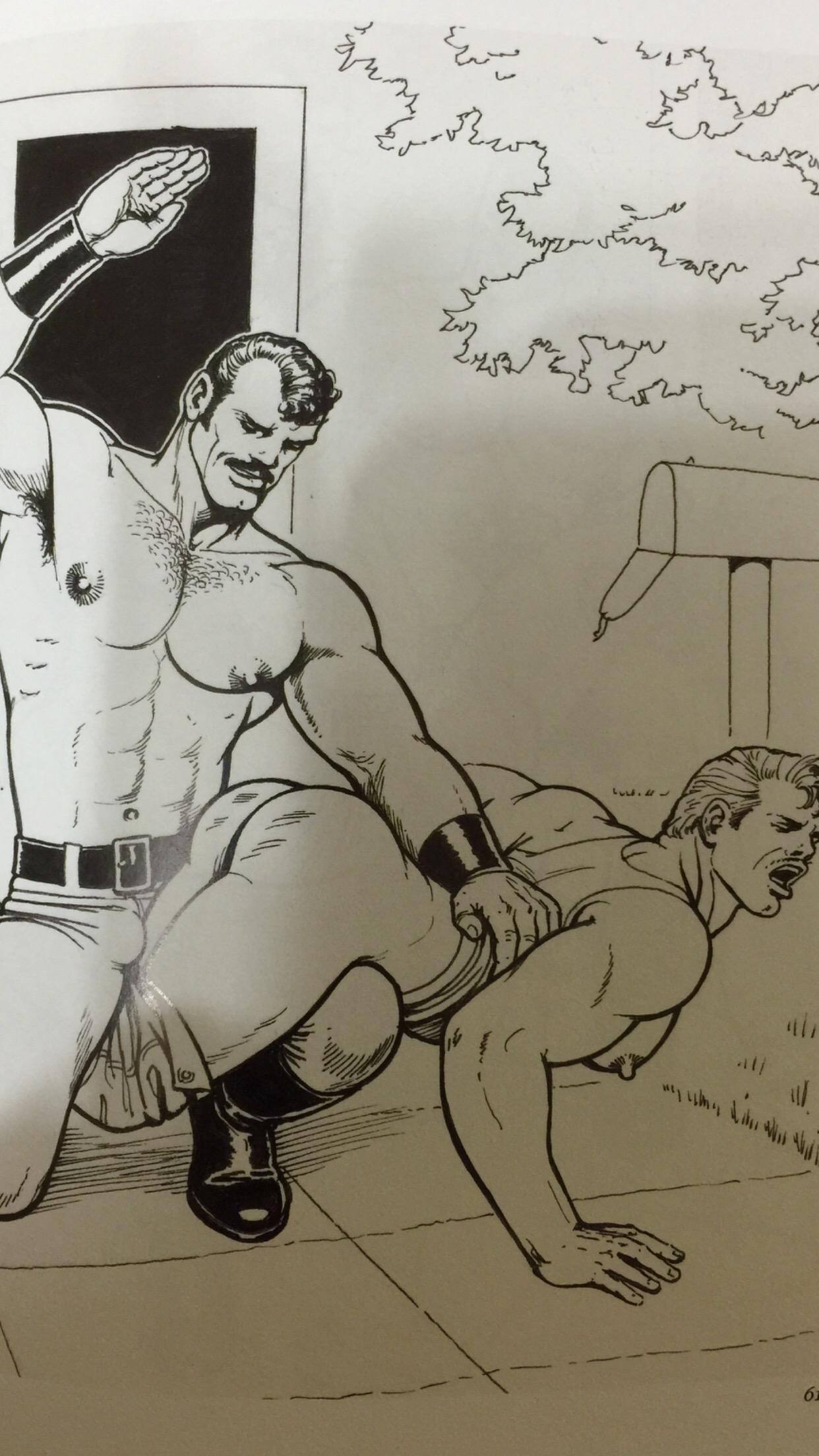 Sexo forte consentido entre os gays.