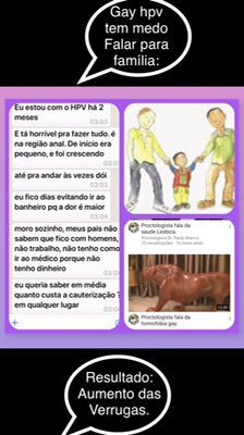 verrugas de hpv no gay.