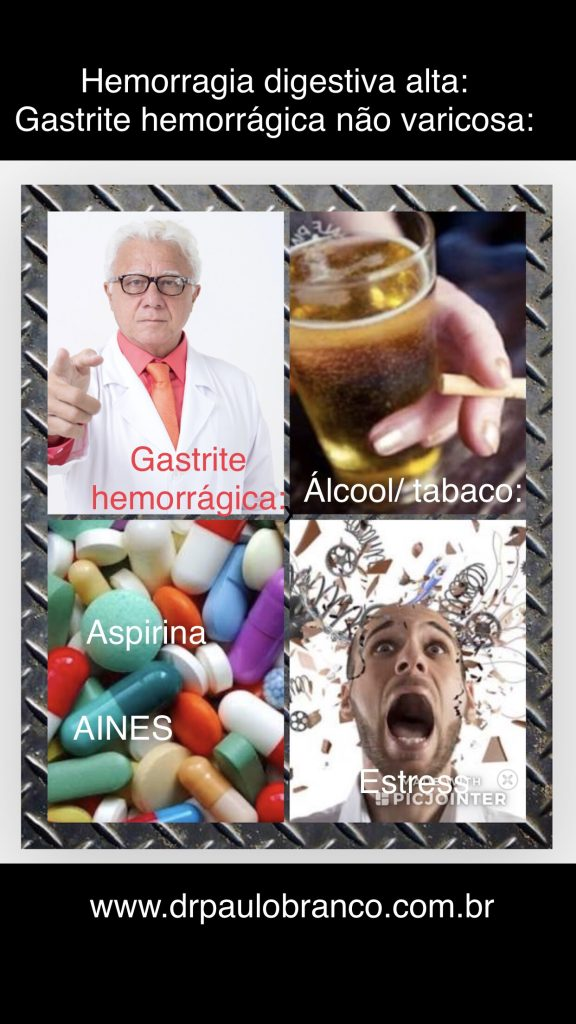 Gastrite hemorrágica por estresse