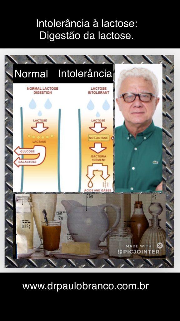 intolerancia a lactose.