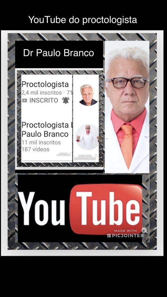 Proctologista online com canal de vídeos educativos das doenças proctologicas completa 200 vídeos sobre diferentes temas para a prevenção e tratamento das doenças.