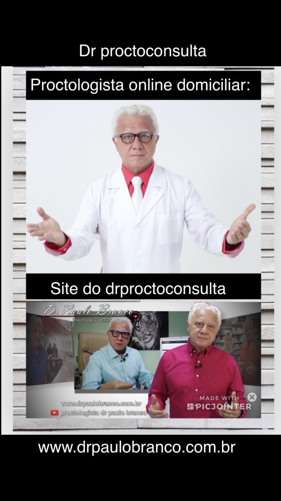 Dr proctoconsulta com proctologista com atendimento domiciliar.