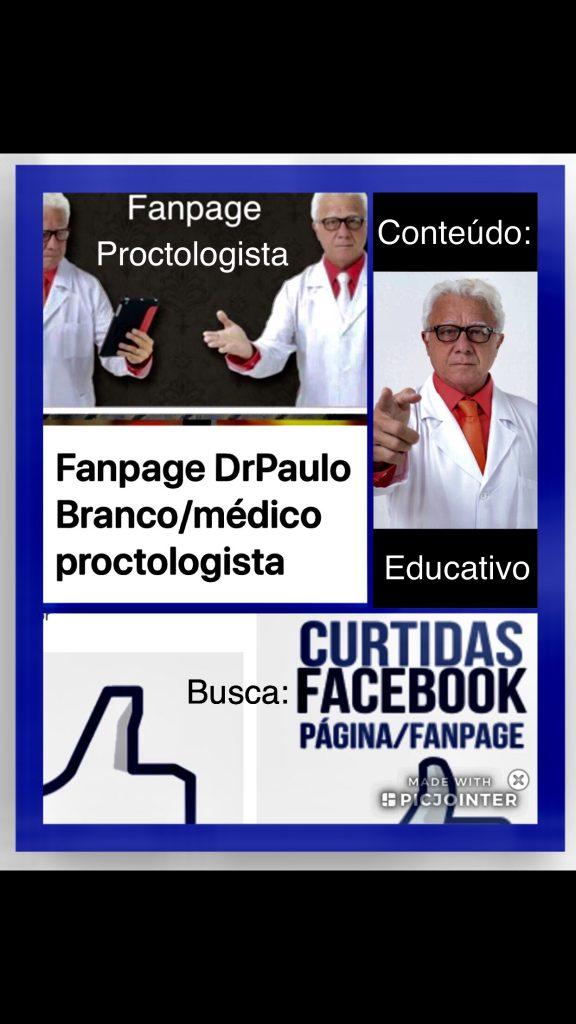 fanpage Dr Paulo Branco/medico proctologista