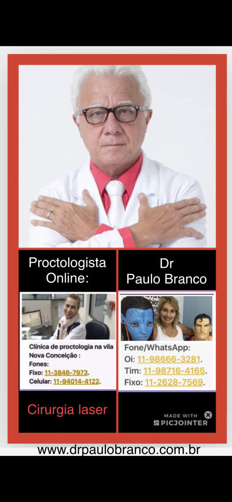 clinica de proctologia com laser em sao paulo.